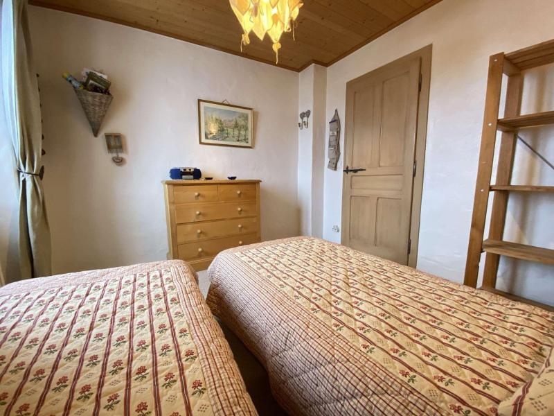 Аренда на лыжном курорте Апартаменты 5 комнат с мезонином 8 чел. (002) - Chalet le Pré Joli - Praz sur Arly - Раздвижной диван