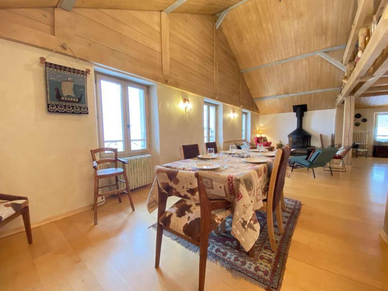 Аренда на лыжном курорте Апартаменты 5 комнат с мезонином 8 чел. (002) - Chalet le Pré Joli - Praz sur Arly - Стол