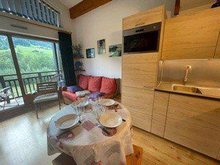 Аренда на лыжном курорте Апартаменты 2 комнат с мезонином 5 чел. (B2L) - Résidence Clos des Meurets - Praz sur Arly - Салон