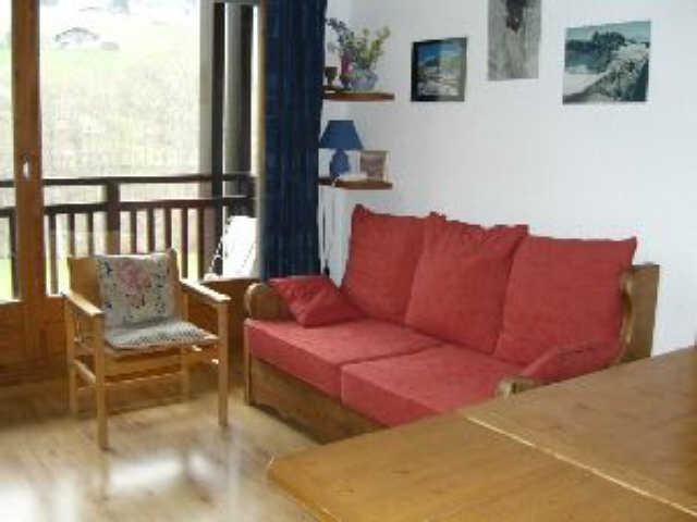 Alquiler al esquí Estudio mezzanine para 5 personas (CDMB2L) - Résidence Clos des Meurets - Praz sur Arly