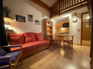 Аренда на лыжном курорте Апартаменты 2 комнат с мезонином 5 чел. (B2L) - Résidence Clos des Meurets - Praz sur Arly