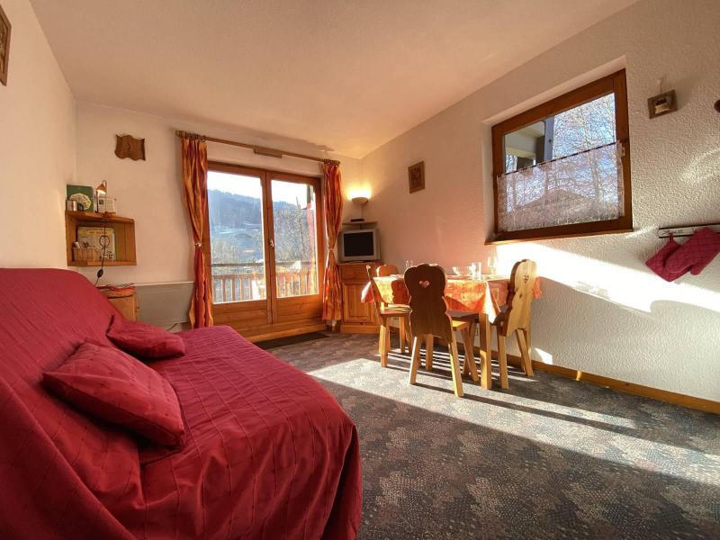 Аренда на лыжном курорте Квартира студия кабина для 4 чел. (A1E) - Résidence Clos des Meurets - Praz sur Arly