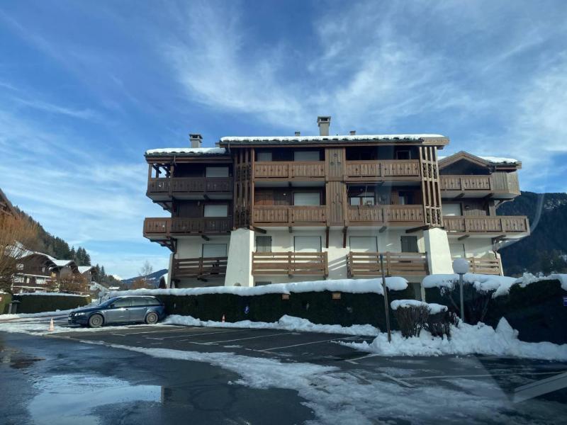 Аренда на лыжном курорте Résidence le Chamois d'Or - Praz sur Arly - зимой под открытым небом