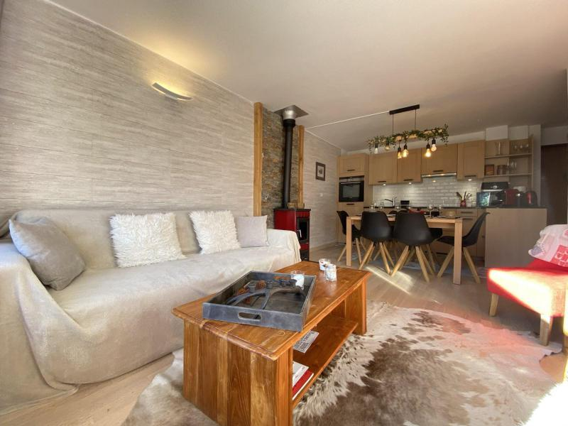Аренда на лыжном курорте Апартаменты 4 комнат 6 чел. (A1H) - Résidence le Clos d'Arly - Praz sur Arly - Салон
