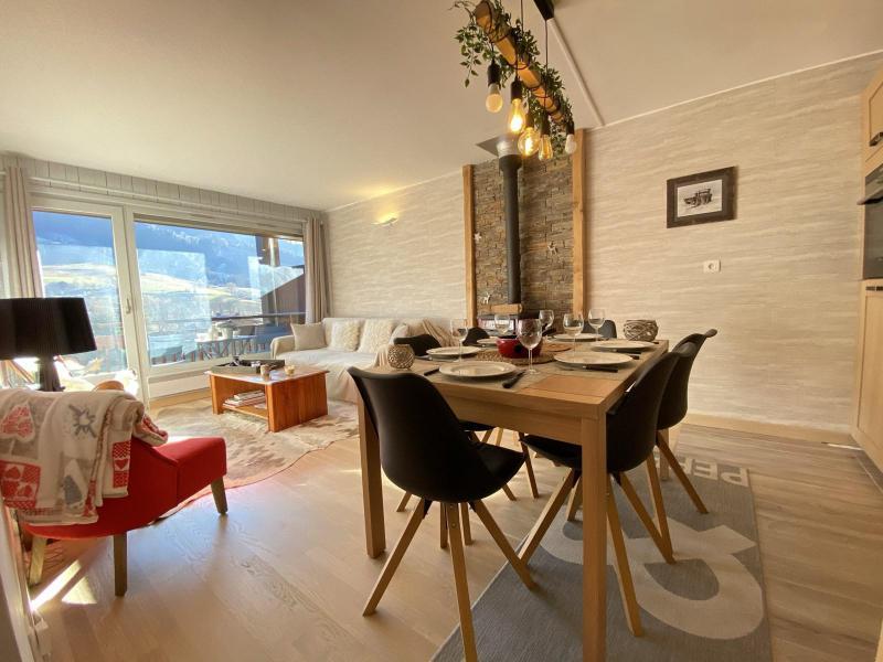 Аренда на лыжном курорте Апартаменты 4 комнат 6 чел. (A1H) - Résidence le Clos d'Arly - Praz sur Arly - Стол