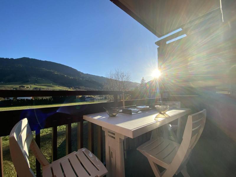 Аренда на лыжном курорте Квартира студия со спальней для 4 чел. (01G) - Résidence le Clos d'Arly - Praz sur Arly