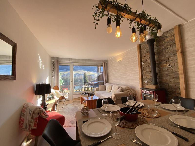 Аренда на лыжном курорте Апартаменты 4 комнат 6 чел. (A1H) - Résidence le Clos d'Arly - Praz sur Arly