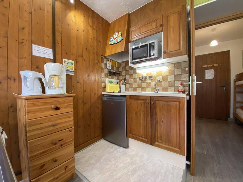 Аренда на лыжном курорте Квартира студия со спальней для 4 чел. (01G) - Résidence le Clos d'Arly - Praz sur Arly - Небольш&