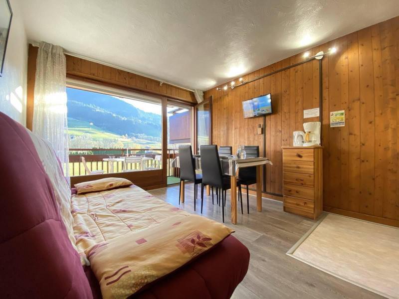 Аренда на лыжном курорте Квартира студия со спальней для 4 чел. (01G) - Résidence le Clos d'Arly - Praz sur Arly - Салон