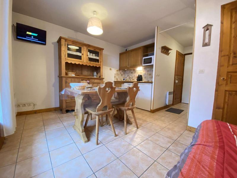 Аренда на лыжном курорте Квартира студия со спальней для 4 чел. (009) - Résidence le Hameau des Neiges - Praz sur Arly - Салон