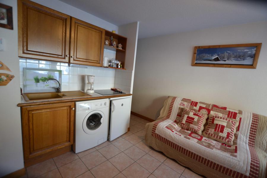 Rent in ski resort 2 room apartment sleeping corner 6 people (05) - Résidence le Parc aux Biches - Praz sur Arly - Washing machine