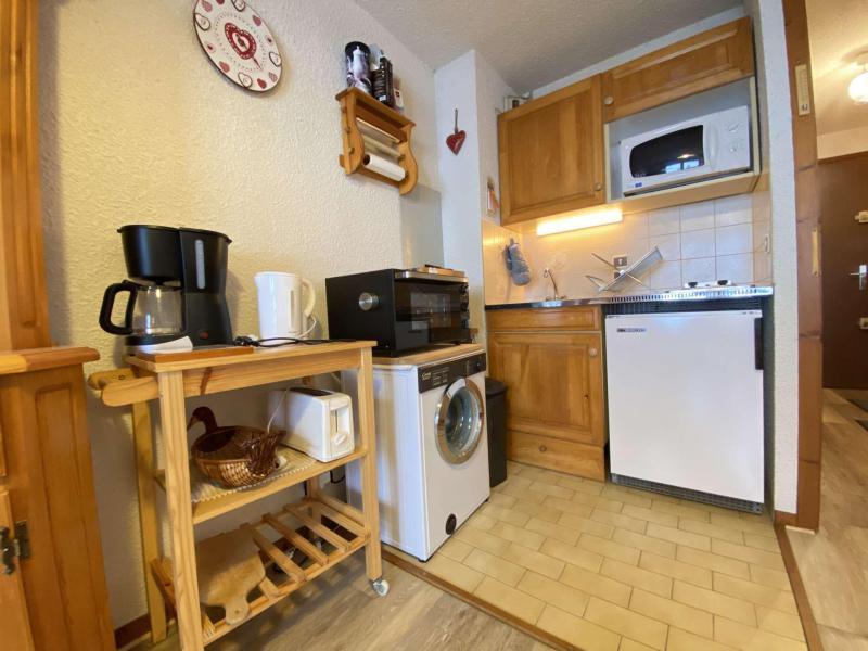 Аренда на лыжном курорте Квартира студия со спальней для 4 чел. (008) - Résidence le Perce Neige - Praz sur Arly - Небольш&