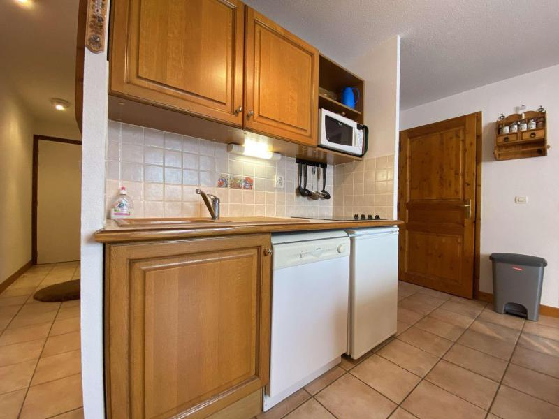 Аренда на лыжном курорте Апартаменты 3 комнат 6 чел. (222) - Résidence les Alpages - Praz sur Arly - Небольш&
