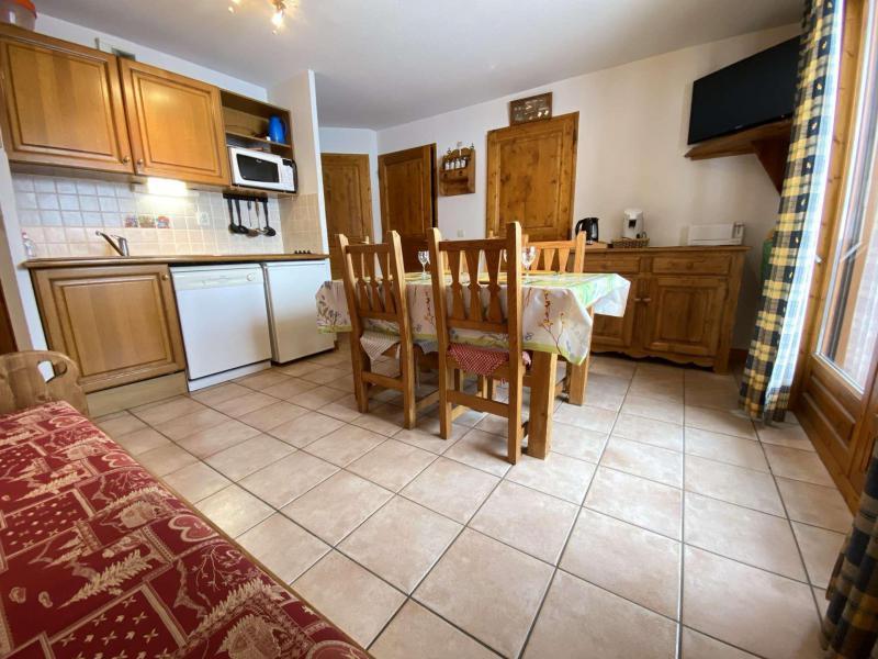 Аренда на лыжном курорте Апартаменты 3 комнат 6 чел. (222) - Résidence les Alpages - Praz sur Arly - Стол