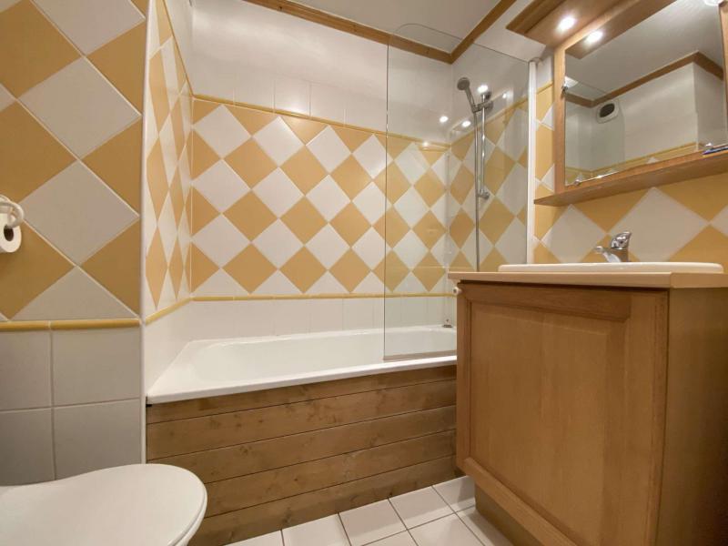 Аренда на лыжном курорте Квартира студия кабина для 4 чел. (210) - Résidence les Ecrins - Praz sur Arly - Ванна