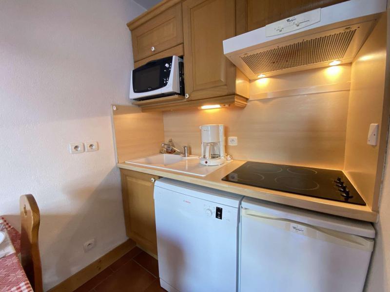 Аренда на лыжном курорте Квартира студия кабина для 4 чел. (210) - Résidence les Ecrins - Praz sur Arly - Небольш&