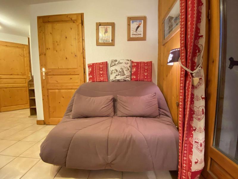 Аренда на лыжном курорте Апартаменты 2 комнат 5 чел. (B111) - Résidence les Pistes d'Or 2 - Praz sur Arly - Салон