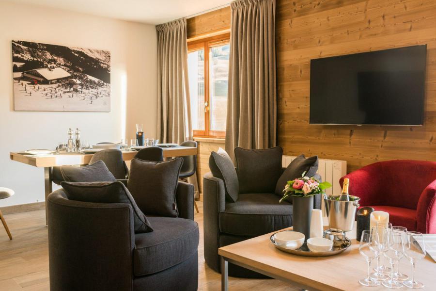 Аренда на лыжном курорте Résidence Les Portes de Megève - Praz sur Arly - Кресло