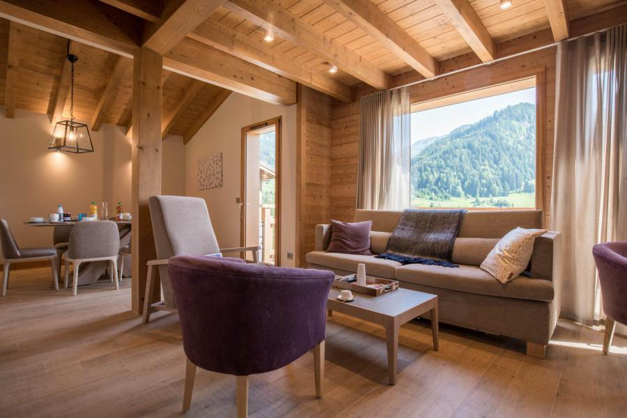 Аренда на лыжном курорте Résidence Les Portes de Megève - Praz sur Arly - Сиденье банкетка