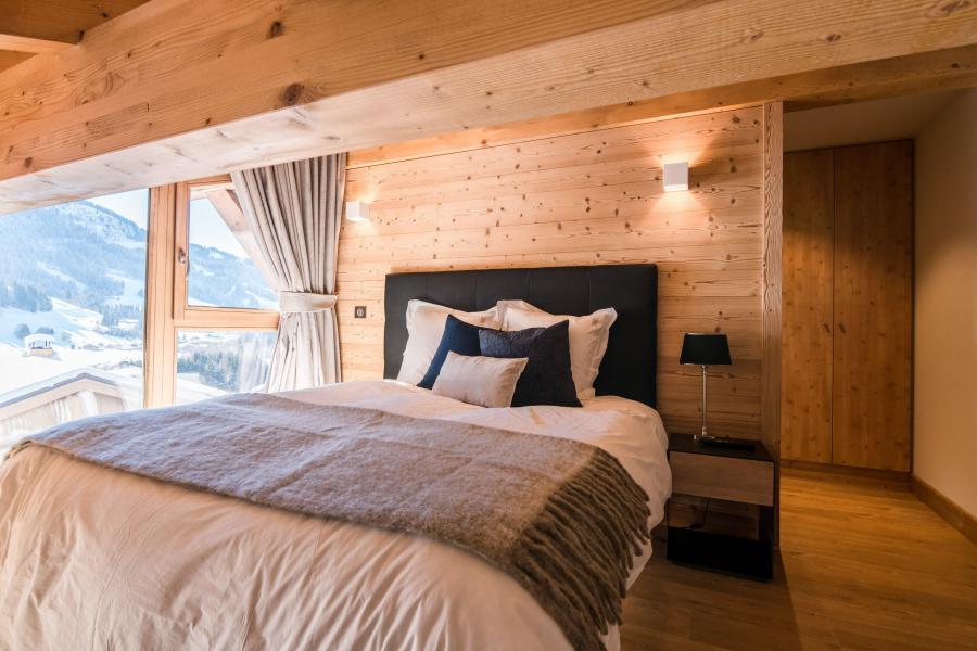 Ski verhuur Résidence Les Portes de Megève - Praz sur Arly - Kamer