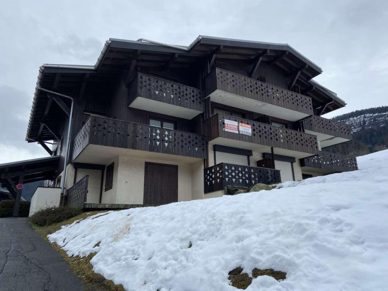 Аренда на лыжном курорте Апартаменты 2 комнат 4 чел. (A07) - Résidence Praz les Pistes - Praz sur Arly - зимой под открытым небом