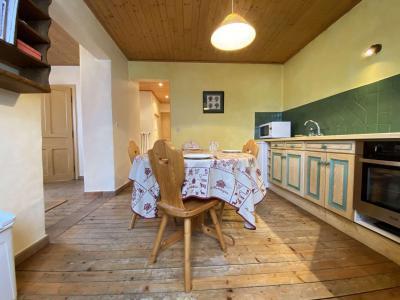 Аренда на лыжном курорте Апартаменты 2 комнат 4 чел. (001) - Chalet le Pré Joli - Praz sur Arly - Стол