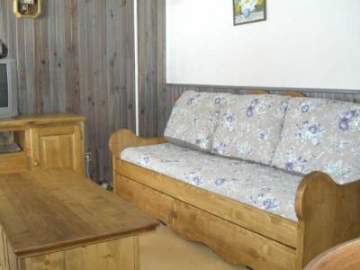 Rent in ski resort 2 room apartment cabin 5 people (BB2206) - Les Balcons d'Arly - Praz sur Arly - Sofa-bed