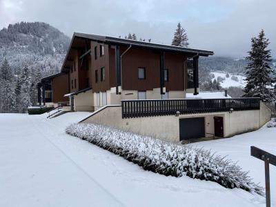 Аренда на лыжном курорте Апартаменты 3 комнат 6 чел. (01B) - Les Chalets de Very - Praz sur Arly - зимой под открытым небом