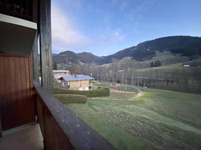 Аренда на лыжном курорте Апартаменты 2 комнат с мезонином 5 чел. (B2L) - Résidence Clos des Meurets - Praz sur Arly - Балкон