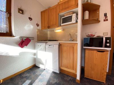 Аренда на лыжном курорте Квартира студия кабина для 4 чел. (A1E) - Résidence Clos des Meurets - Praz sur Arly - Небольш&
