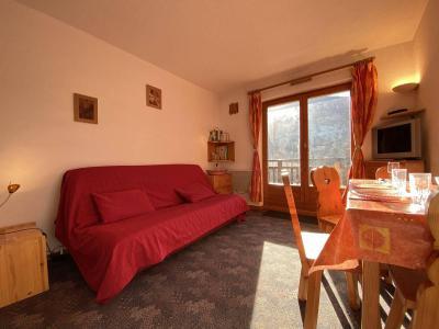 Аренда на лыжном курорте Квартира студия кабина для 4 чел. (A1E) - Résidence Clos des Meurets - Praz sur Arly - Салон