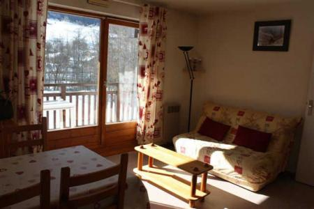 Rent in ski resort Studio sleeping corner 4 people (CDMA1H) - Résidence Clos des Meurets - Praz sur Arly - Living room