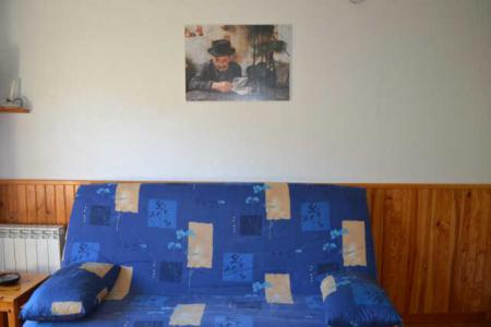Rent in ski resort Studio sleeping corner 4 people (CDMAOF) - Résidence Clos des Meurets - Praz sur Arly - Sofa bed