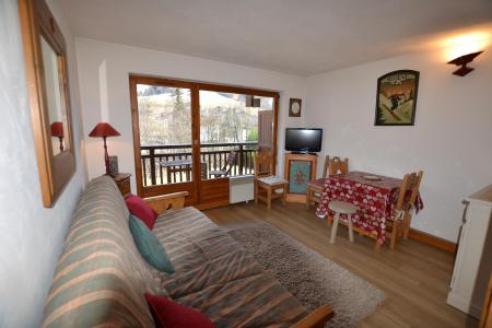 Rent in ski resort Studio sleeping corner 4 people (02E) - Résidence l'Orée des Pistes - Praz sur Arly