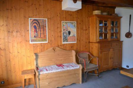 Rent in ski resort 3 room apartment 6 people (B4E) - Résidence le Clos d'Arly - Praz sur Arly - Living room