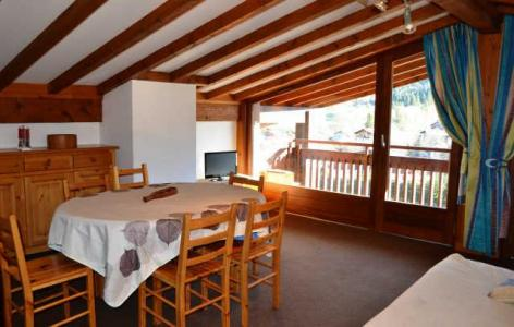 Rent in ski resort 3 room apartment 7 people (769) - Résidence le Clos d'Arly - Praz sur Arly - Dining area