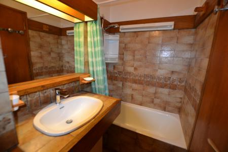 Rent in ski resort Studio sleeping corner 4 people (B1G) - Résidence le Clos d'Arly - Praz sur Arly - Bath-tub