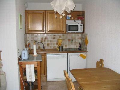 Rent in ski resort 2 room apartment sleeping corner 4 people (114) - Résidence le Hameau des Neiges - Praz sur Arly - Kitchenette