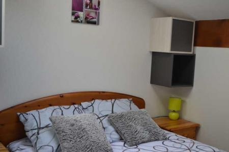 Rent in ski resort 2 room apartment 4 people (234) - Résidence le Jardin des Neiges - Praz sur Arly - Double bed