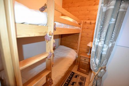 Rent in ski resort 2 room apartment sleeping corner 6 people (05) - Résidence le Parc aux Biches - Praz sur Arly - Bunk beds