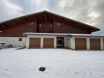 Аренда на лыжном курорте Квартира студия со спальней для 4 чел. (008) - Résidence le Perce Neige - Praz sur Arly - зимой под открытым небом