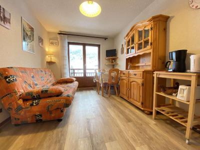Аренда на лыжном курорте Квартира студия со спальней для 4 чел. (008) - Résidence le Perce Neige - Praz sur Arly - Диван