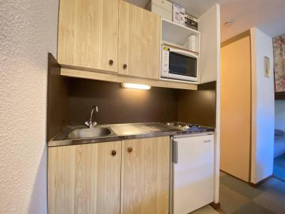 Аренда на лыжном курорте Квартира студия со спальней для 4 чел. (107) - Résidence les Balcons d'Arly - Praz sur Arly - Небольш&