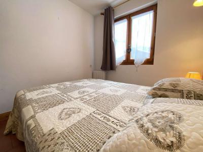 Аренда на лыжном курорте Апартаменты 3 комнат 6 чел. (110) - Résidence les Ecrins - Praz sur Arly - Двухспальная кровать
