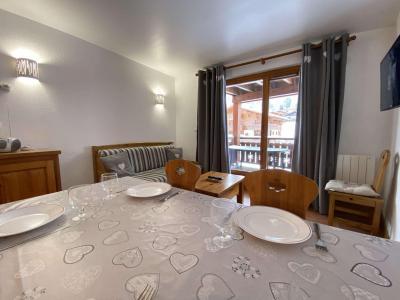 Аренда на лыжном курорте Апартаменты 3 комнат 6 чел. (110) - Résidence les Ecrins - Praz sur Arly - Салон