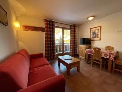 Аренда на лыжном курорте Квартира студия кабина для 4 чел. (210) - Résidence les Ecrins - Praz sur Arly - Двухъярусные кровати
