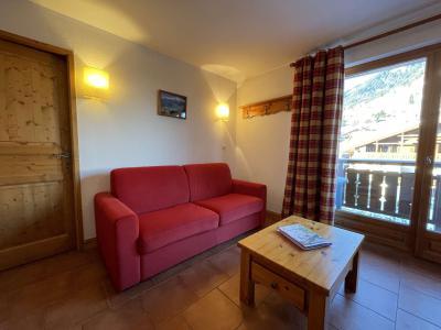 Аренда на лыжном курорте Квартира студия кабина для 4 чел. (210) - Résidence les Ecrins - Praz sur Arly - Салон