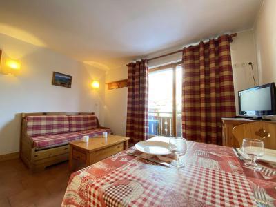 Аренда на лыжном курорте Квартира студия кабина для 4 чел. (210) - Résidence les Ecrins - Praz sur Arly - Стол