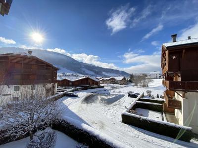 Аренда на лыжном курорте Апартаменты 3 комнат 5 чел. (1220) - Résidence les Pistes d'Or 1 - Praz sur Arly - зимой под открытым небом