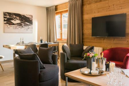 Rent in ski resort Résidence Les Portes de Megève - Praz sur Arly - Armchair